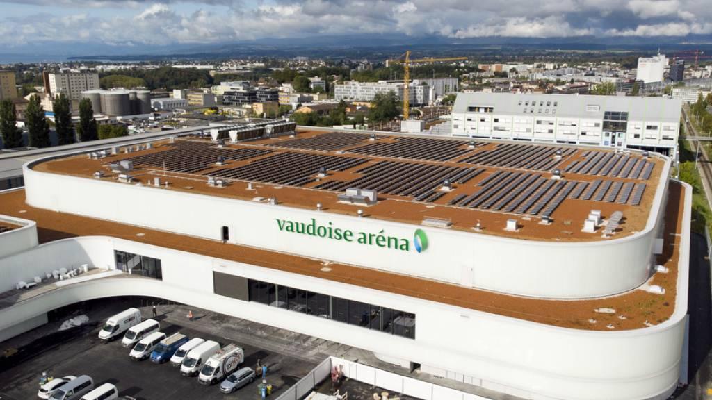 Zwischendecke der neuen Eishalle in Lausanne eingestürzt