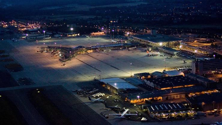 Erneut ein Bombenalarm auf dem Euro-Airport Basel-Mulhouse.