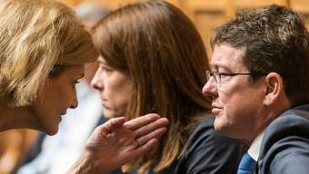 Liberale Rezepte für die Klimapolitik: Am 1. Juni werden FDP-Nationalrätin Doris Fiala (links), Petra Gössi (Mitte) und SVP-Präsident in Hunzenschwil über dieses Thema sprechen.
