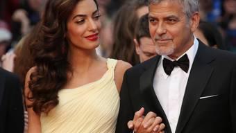 Schöne Kinder gäbe es wohl: Amal und George Clooney. (Archivbild)