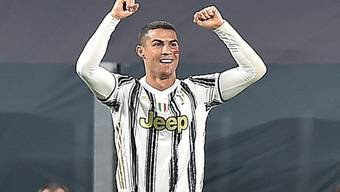Cristiano Ronaldo schoss Juventus Turin mit zwei Toren zum Heimsieg gegen Cagliari