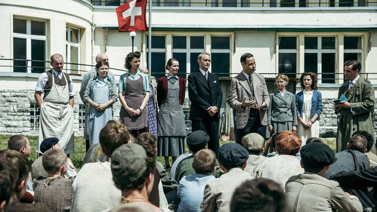 Die Schweiz zeigte sich grosszügig: KZ-Überlebende (die Buchenwald-Buben) sollten sich hierzulande erholen.
