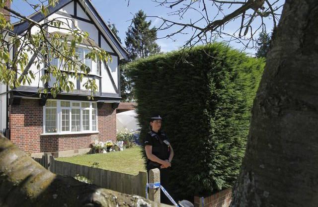 Das Haus der in Annecy getöteten britischen Familie im englischen Claygate