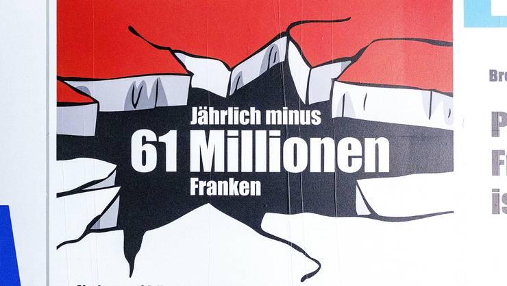 61 Millionen Franken pro Jahr kostet die Steuervorlage 17 laut den Gegnern.