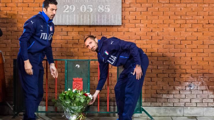 Gianluigi Buffon und Giorgio Chiellini erinnerten an die Katastrophe