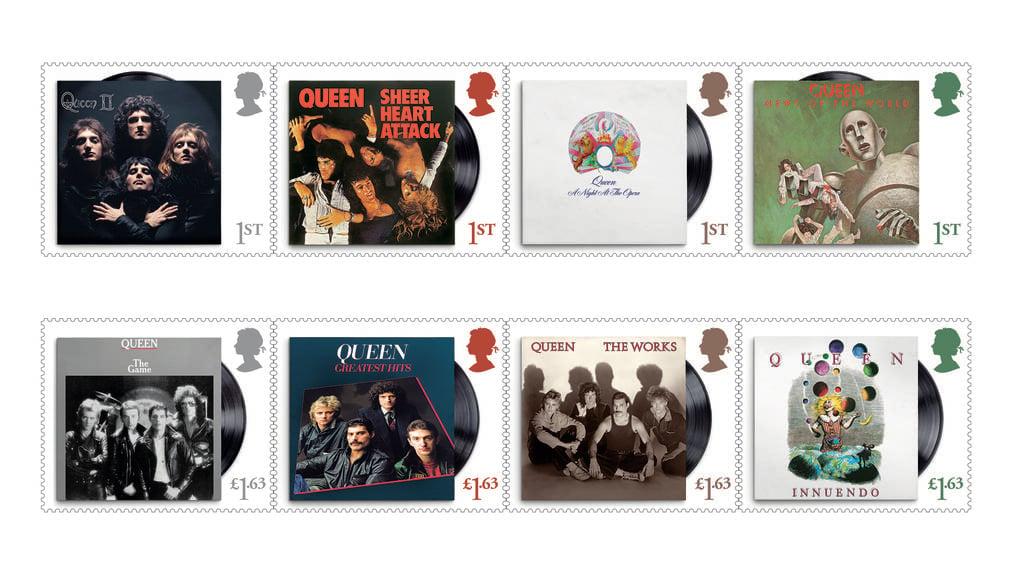 Band «Queen» wird mit Briefmarkenserie geehrt