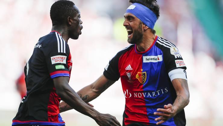 Mit Turban wurde Delgado zum Matchwinner beim Cupfinal gegen Sion.