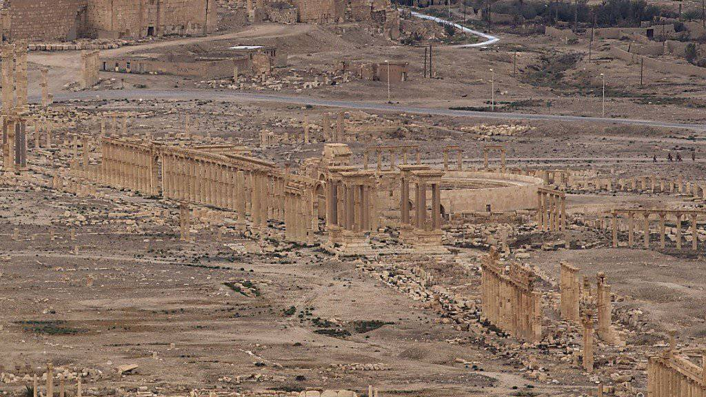 IS-Miliz hat syrisches Palmyra wieder erobert