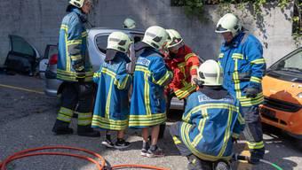 Hauptübung Feuerwehr Grenchen