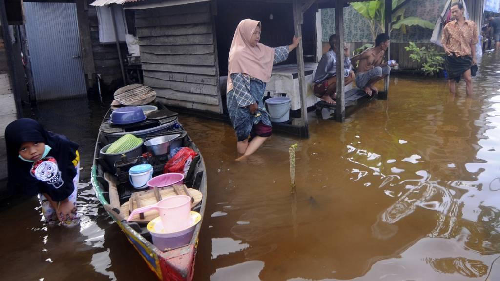 Indonesien: Schlimmste Überflutungen in Kalimantan seit 50 Jahren