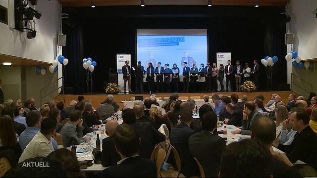 16 Aargauer FDP-Politker wollen den Sprung nach Bern schaffen