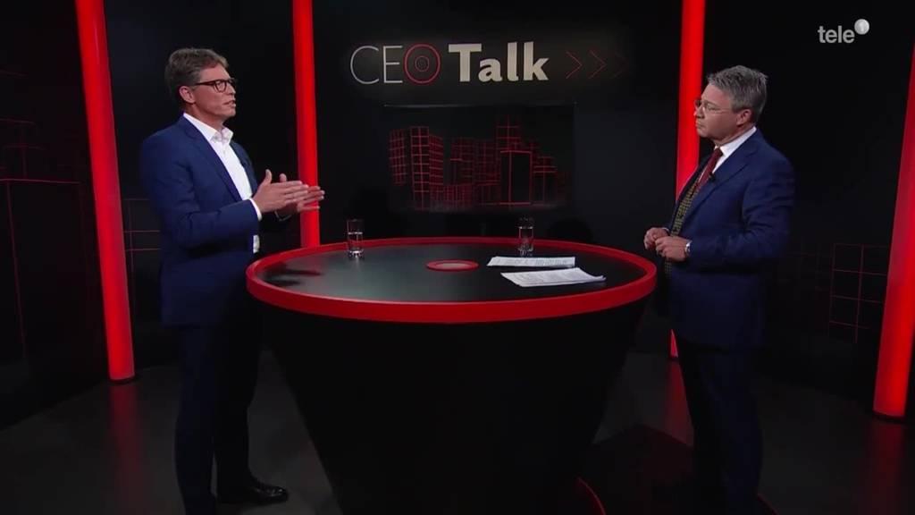 «CEO Talk» mit Matthias Rebellius, CEO Siemens Smart Infrastructure