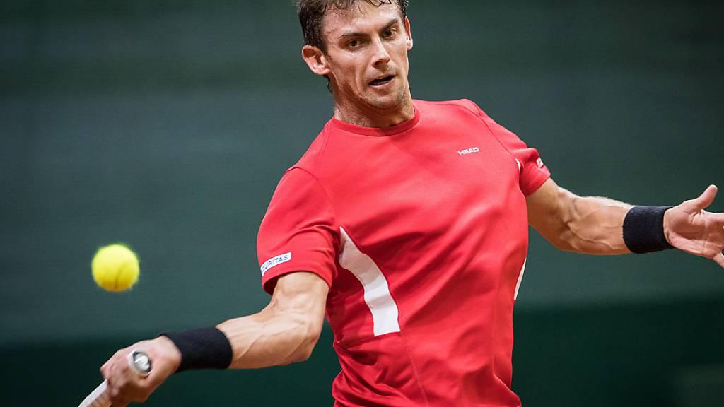 Henri Laaksonen spielte sich ins Haupttableau des Australian Open
