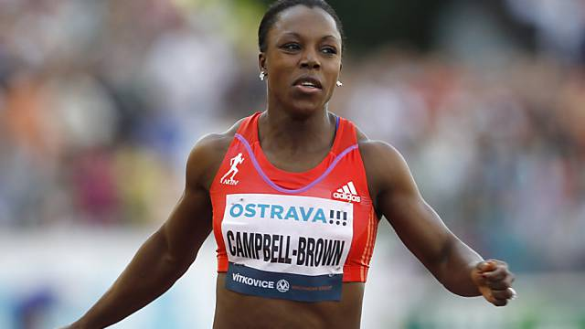 Veronica Campbell-Brown startet am Dienstag in Luzern
