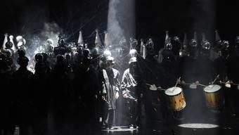 Auch das Drummeli muss mehr ins Marketing investieren: Die junge Garde der Seibi bei ihrem Auftritt 2018.