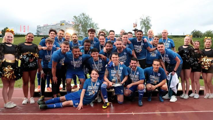 Concordia Basel verteidigt den Basler Cup erfolgreich.