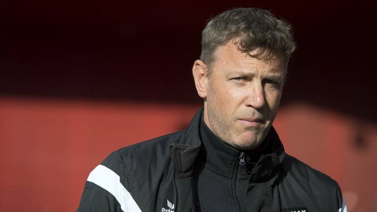 Ein starker Mann - doch einer mit Prinzipien: Noch Xamax-Trainer Stéphane Henchoz.