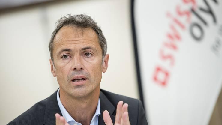 Roger Schnegg von Swiss Olympic fordert mehr finanzielle Unterstützung.