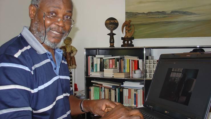 Der gebürtige Nigerianer leistet mit seinem Verein Hilfe zur Selbsthilfe.