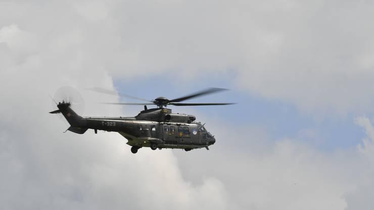 Ein Super Puma der Schweizer Luftwaffe. (Symbolbild)