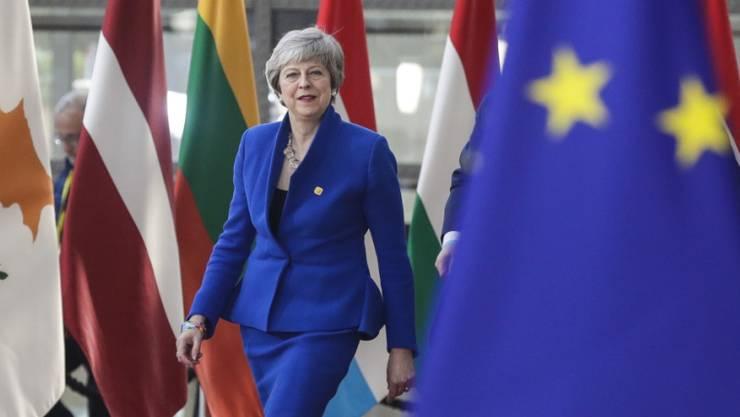 Muss annehmen, was ihr die EU anbietet: Die britische Premierministerin Theresa May.