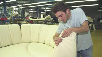 Produktion beim Möbelhersteller de Sede (Archiv)