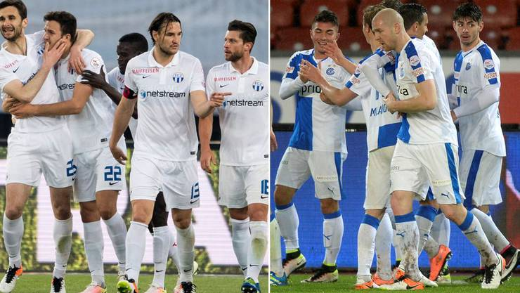 Fussball-Fusion in Zürich? Der FC Zürich (links) und die Grasshoppers