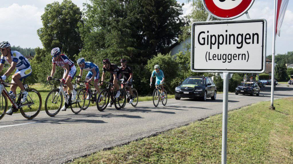 Bei einem Amateurrennen im Rahmen der Gippinger Radsporttage kam es im Juni 2014 zu einem folgeschweren Unfall (Archivbild).
