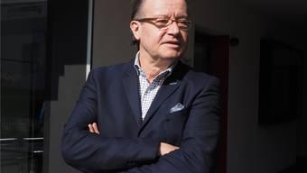 Christoph Grenacher kämpft für den Erhalt des Berufsbildungszentrums. twe