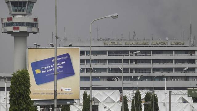 Der Murtala Muhammed International Airport in Lagos, Nigeria