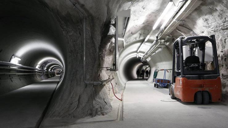 So könnte ein Endlager aussehen: Im Felslabor werden Experimente in kristallinem Gestein zur Erforschung der Endlagerung von radioaktiven Abfällen durchgeführt.