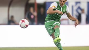 Danijel Aleksic trifft mittels Traum-Freistoss für St. Gallen - zum Sieg reicht es trotzdem nicht