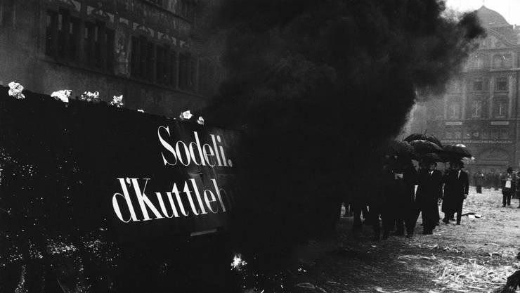 """Kuttlebutzer """"Sodeli, d'Kuttlebutzer"""", 1974, Basel"""