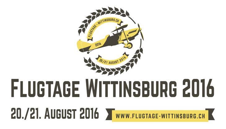 Das Logo der Flugtage Wittinsburg ist schon parat. Zuerst muss der Anlass aber vom Bundesamt für Zivilluftfahrt genehmigt werden.