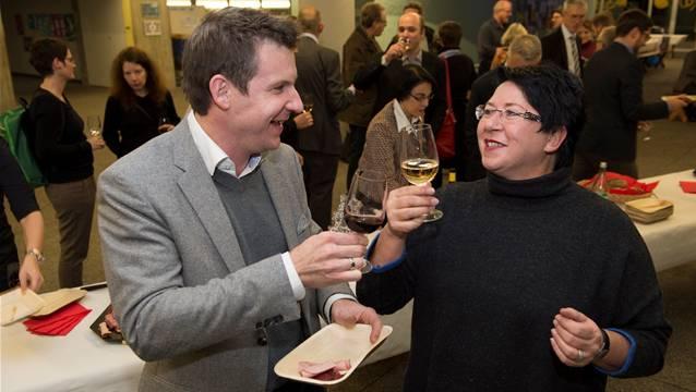 Reto Schmid und Daniela Oehrli scheiden per Ende Jahr aus dem Stadtrat aus.