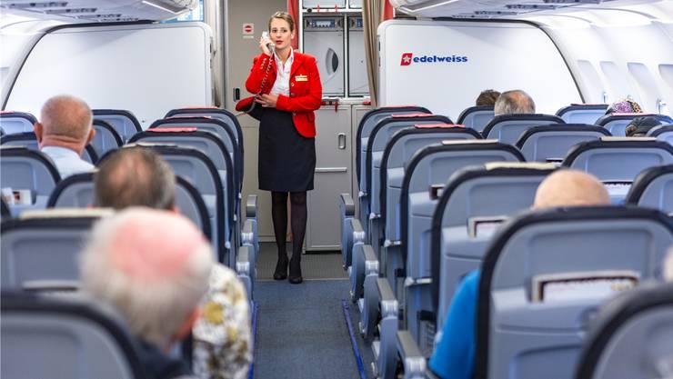 Flugreisende sollen nach Ansicht der SP Aargau einen finanziellen Beitrag zum Klimaschutz leisten.