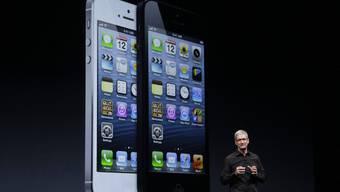 Apple präsentiert das neue iPhone 5