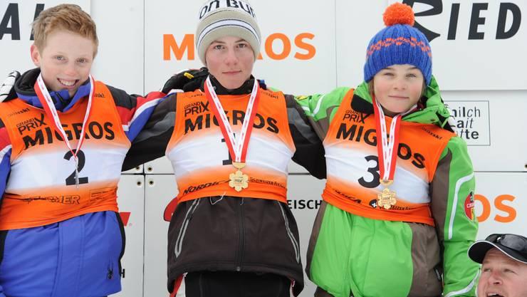 Mario Belloni aus Grenchen auf dem ersten Platz.