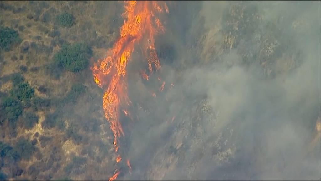 USA: Waldbrände wüten weiter - Evakuierungsbefehl für 80'000 Haushalte