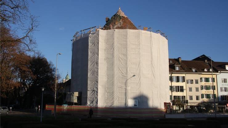 Vor dem Wintereinbruch sollten die Restaurierungsarbeiten beendet sein.