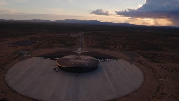 So sieht der weltweit erste kommerzielle Weltraumbahnhof aus