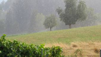 Regen & Hagel 8.8.2018