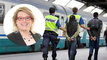 Désirée Stutz hat einen ganzen Fragenkatalog eingereicht. Dabei stellt sie auch Fragen zu drei Fällen, in denen auf die Landesverweisung verzichtet wurde. (Symbolbild)