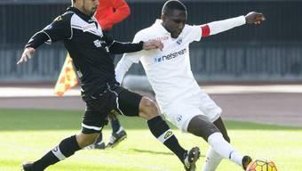 Gilles Yapi (rechts) führte den FC Zürich erstmals als Captain an