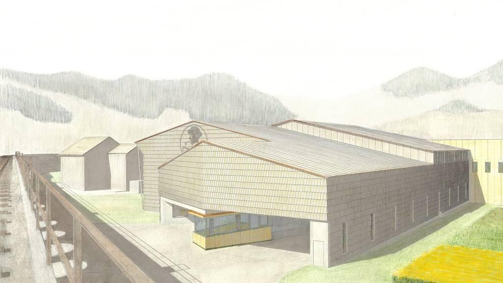 Mehr Platz für Schnaps: So sieht der Erweiterungsbau für Alpenbitter aus