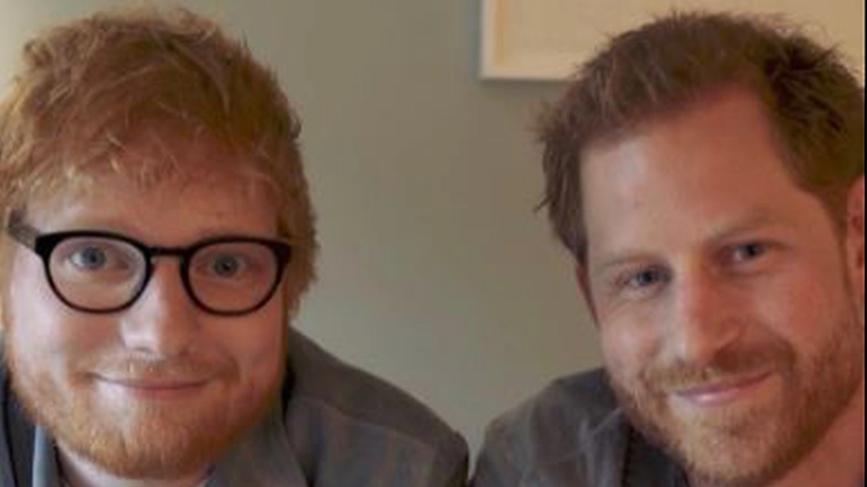 Ed Sheeran und Prinz Harry
