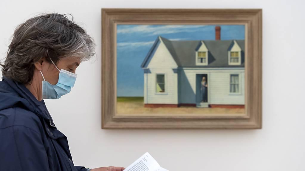 Die Erwartung der Fondation Beyeler, mit der Ausstellung «Edward Hopper» ein Rekordjahr einzufahren, hat sich wegen der Corona-Krise nicht erfüllt.