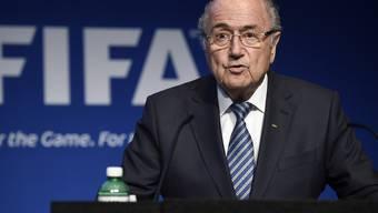 Die Kritik reisst nicht ab: FIFA-Präsident Sepp Blatter