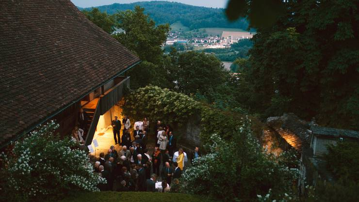 Hoch hinaus geht es am Pfingstfestival Schloss Brunegg musikalisch – und ganz real.
