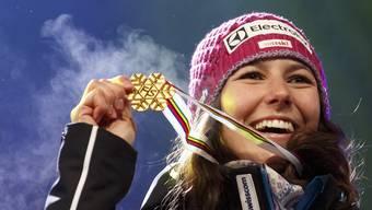 Wendy Holdener will nach dem Kombi-Sieg auch im Slalom triumphieren.